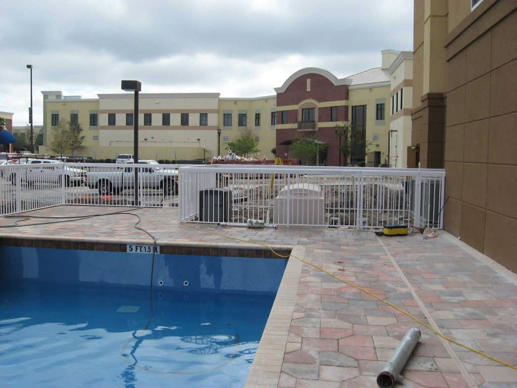 Installing a pool fence in orlando code superior