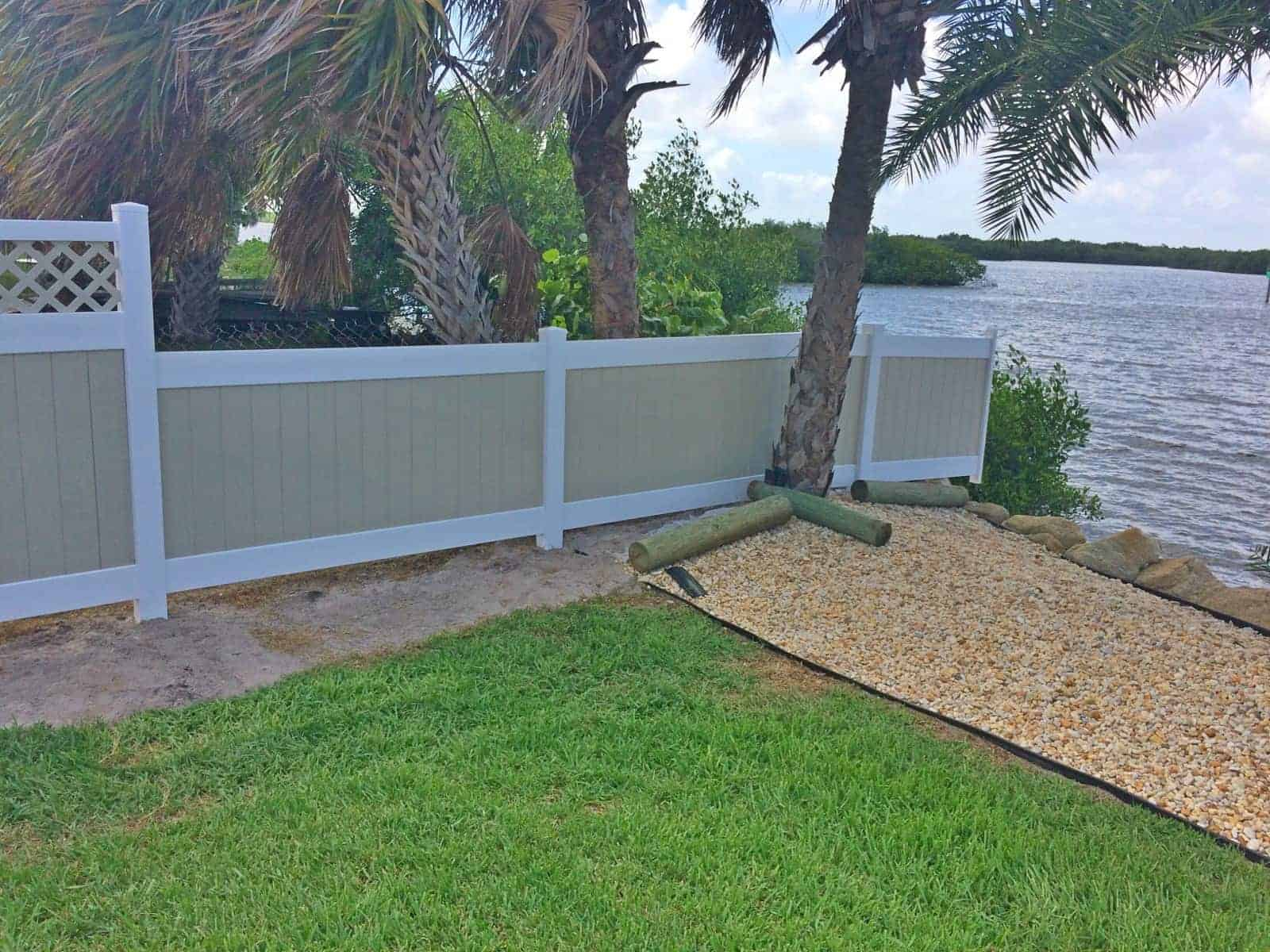 Vinyl Fence Cocoa Beach Featured Installation - Superior Fence
