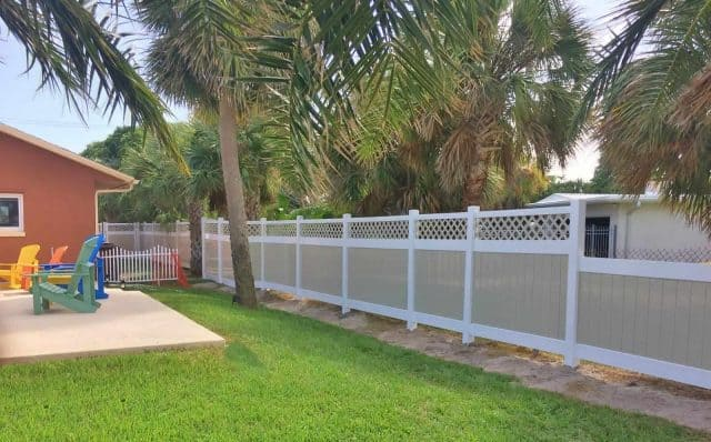 Vinyl Fence Cocoa Beach Featured Installation