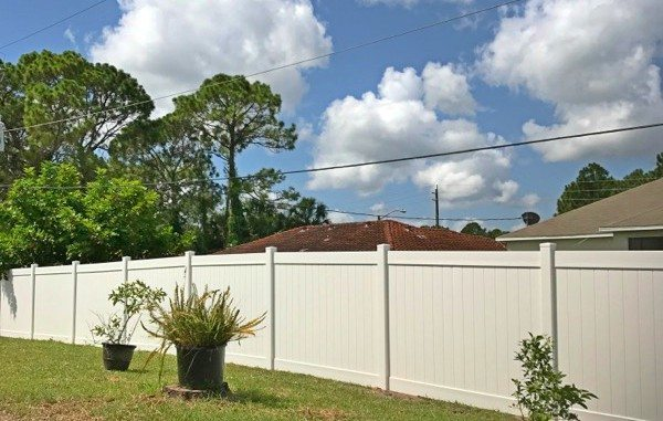 Vinyl Fence Palm Bay Featured Installation
