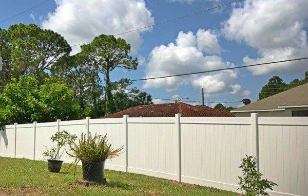 Vinyl Fence Palm Bay Featured Installation