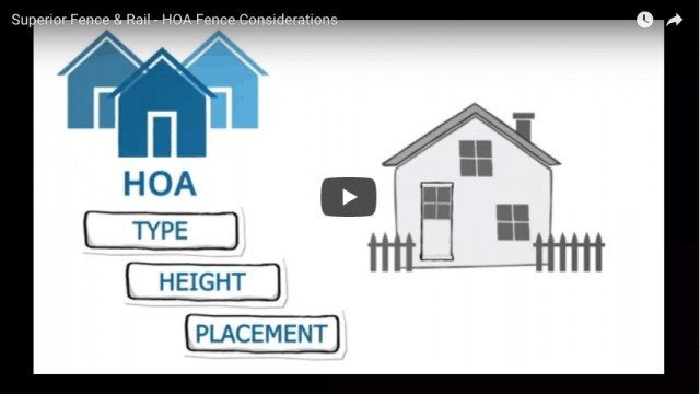HOA Fence Considerations