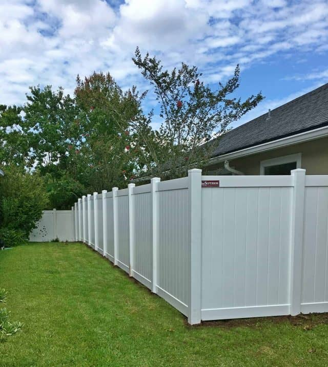 Durable Vinyl Fencing Adds Privacy and More!