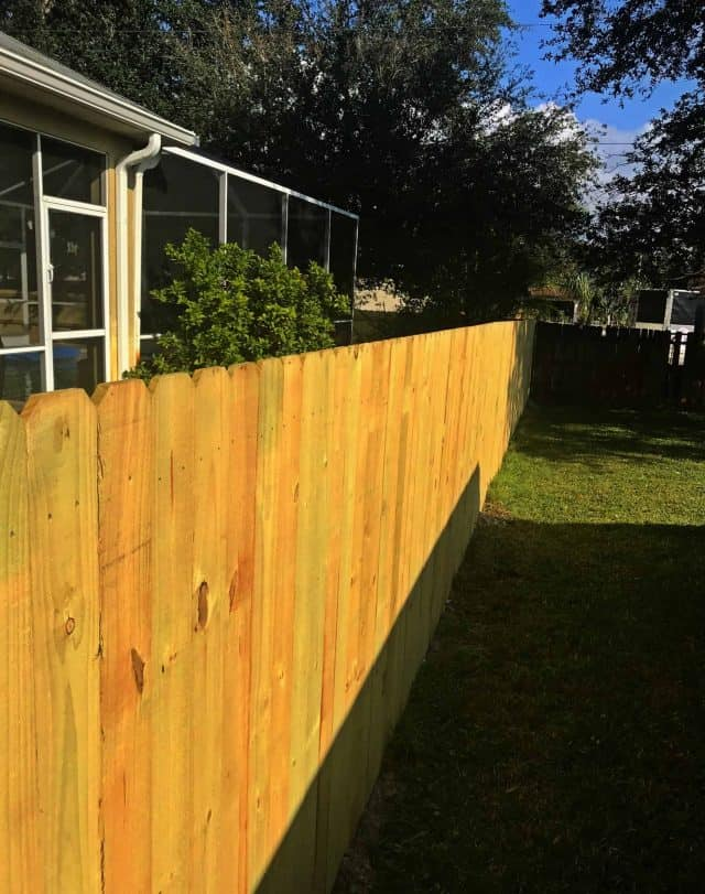Wood Fence Fort Myers Featured Installation