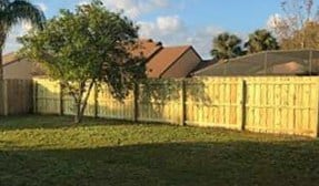 Wood Fence Kissimmee Featured Fence Installation