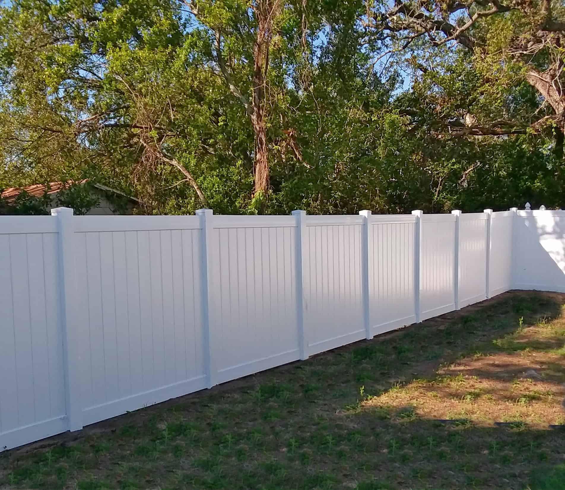 Vinyl Fence Lakeland Featured Installation Superior Fence