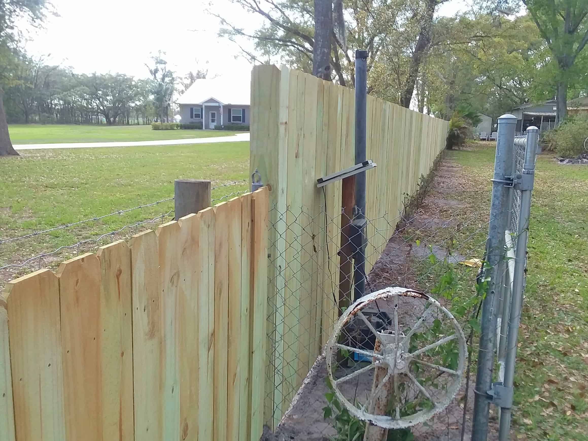 Wood Fence Dover Featured Installation
