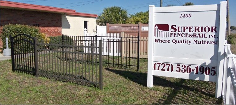 Superior Fence Amp Rail In Tarpon Springs Fl Superior Fence