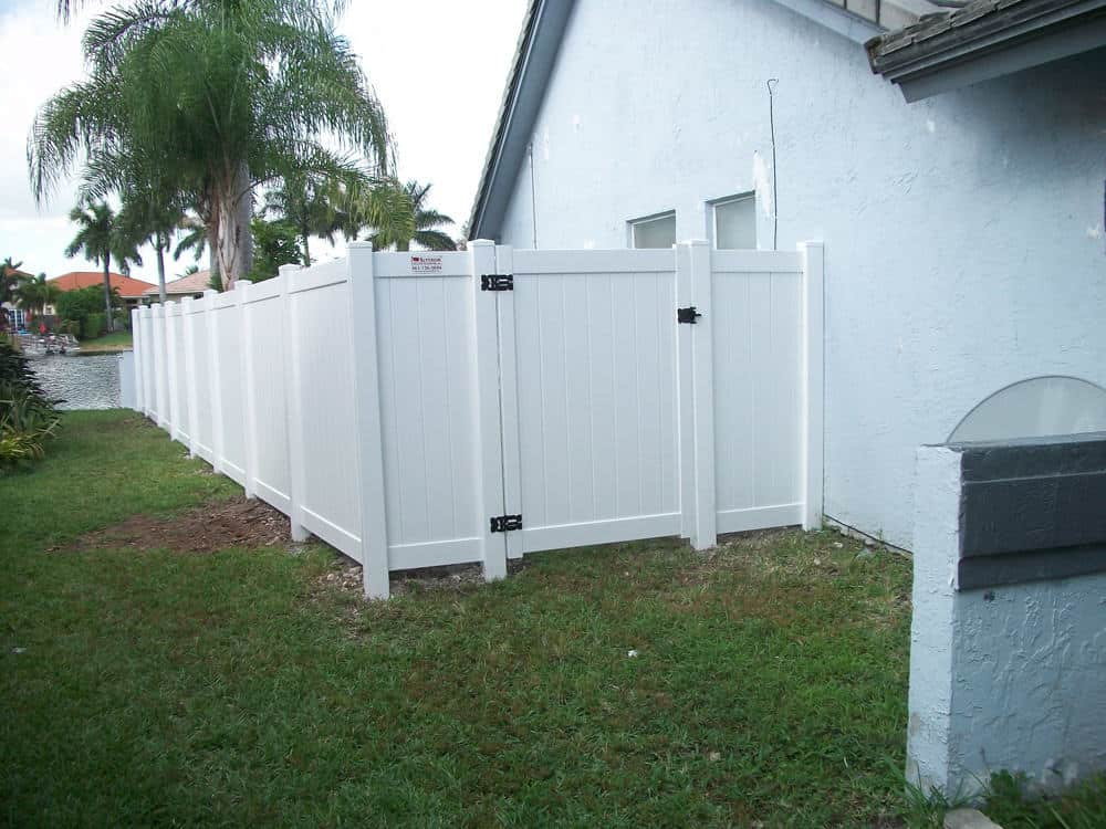 Vinyl Privacy Fence Pictures Florida Vinyl Privacy