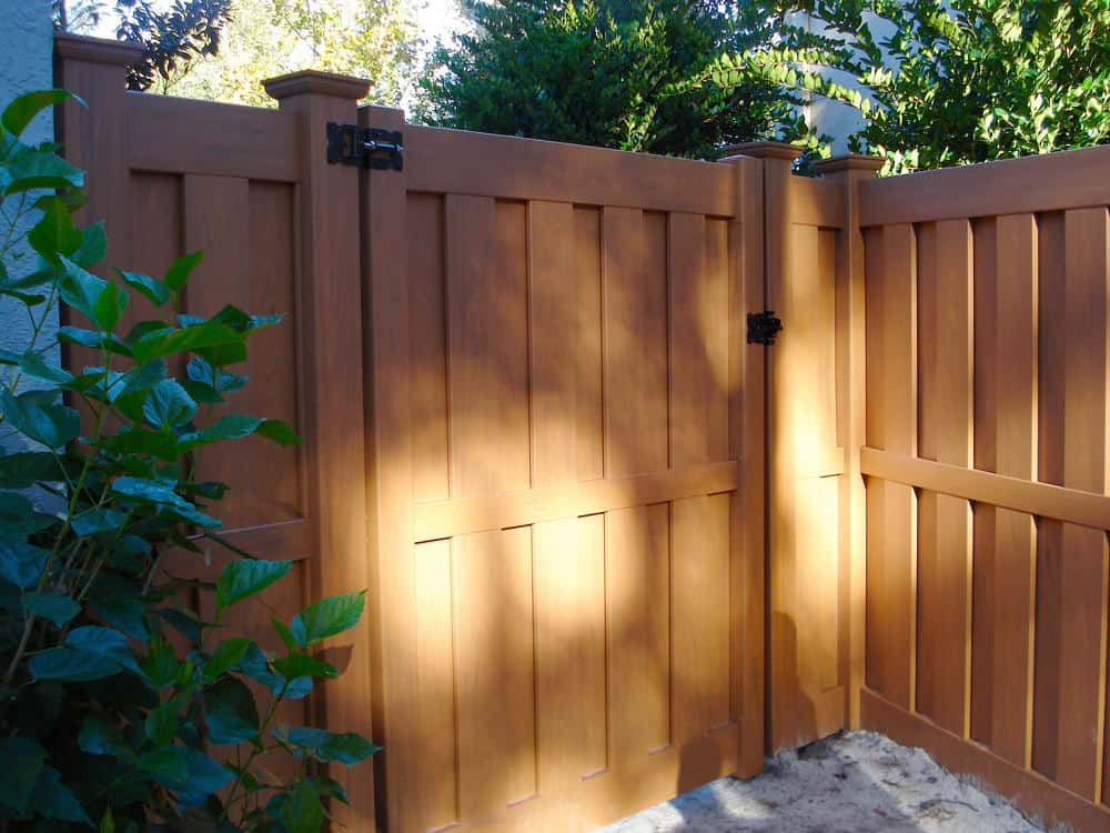 Colored Vinyl Fence
