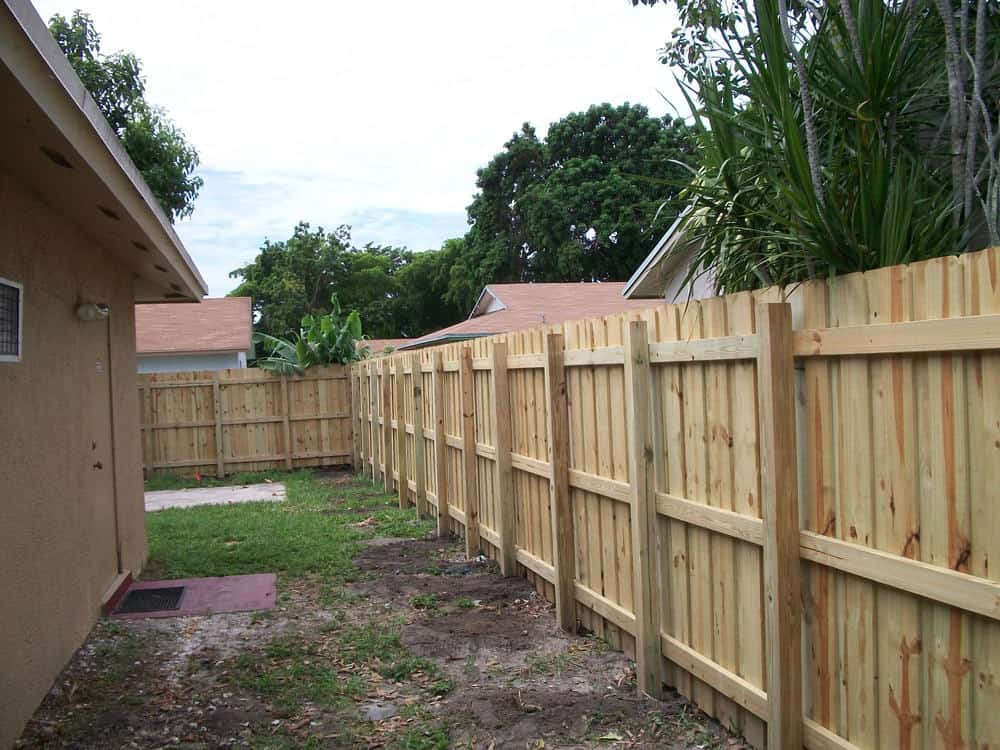 Wood Fence Pictures Florida Wood Fence Gallery Florida