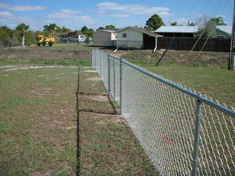 Residential Chain Link Fence Pictures Florida