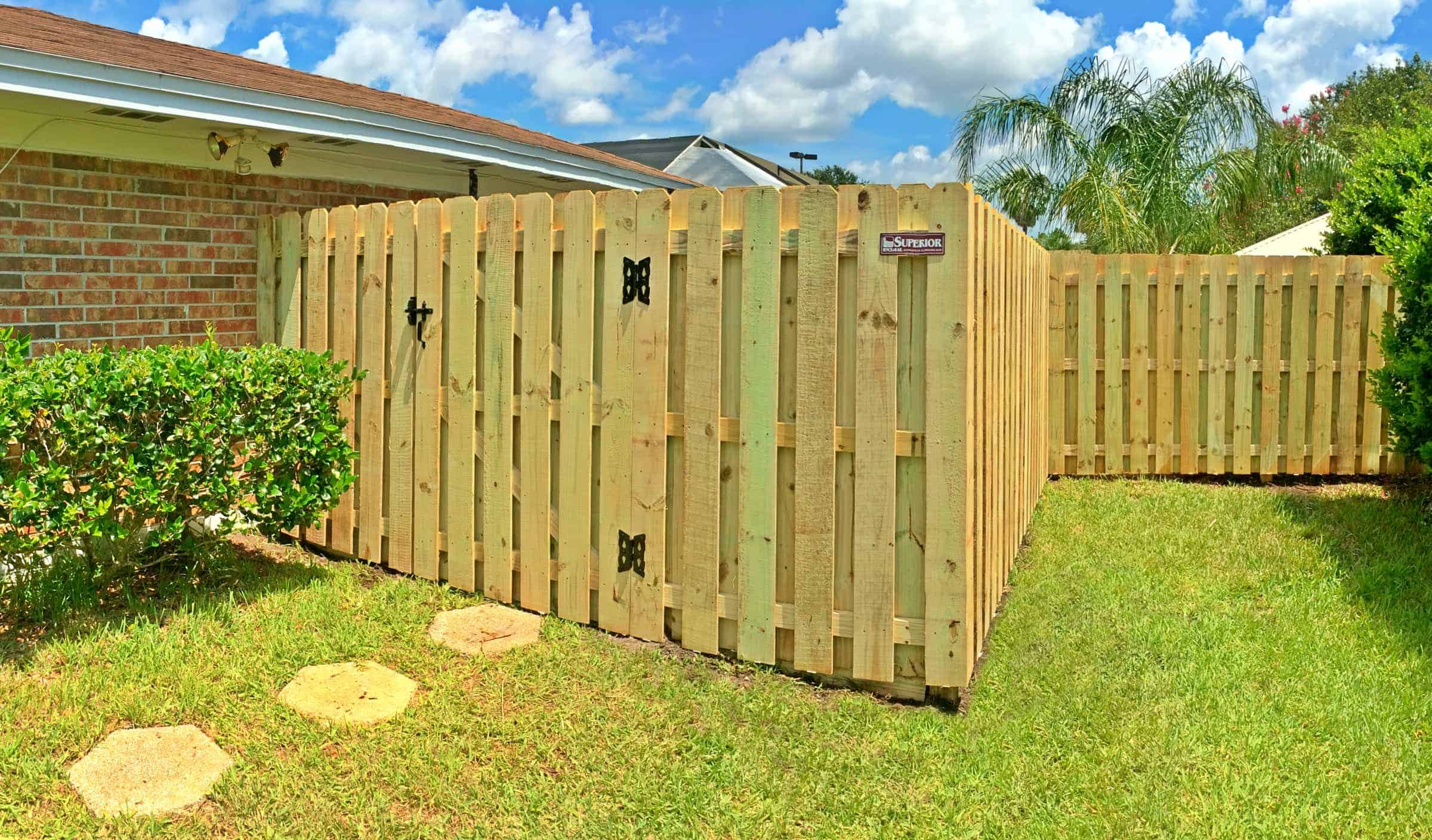 Shadowbox Fence Pictures Florida Wood Fence Gallery