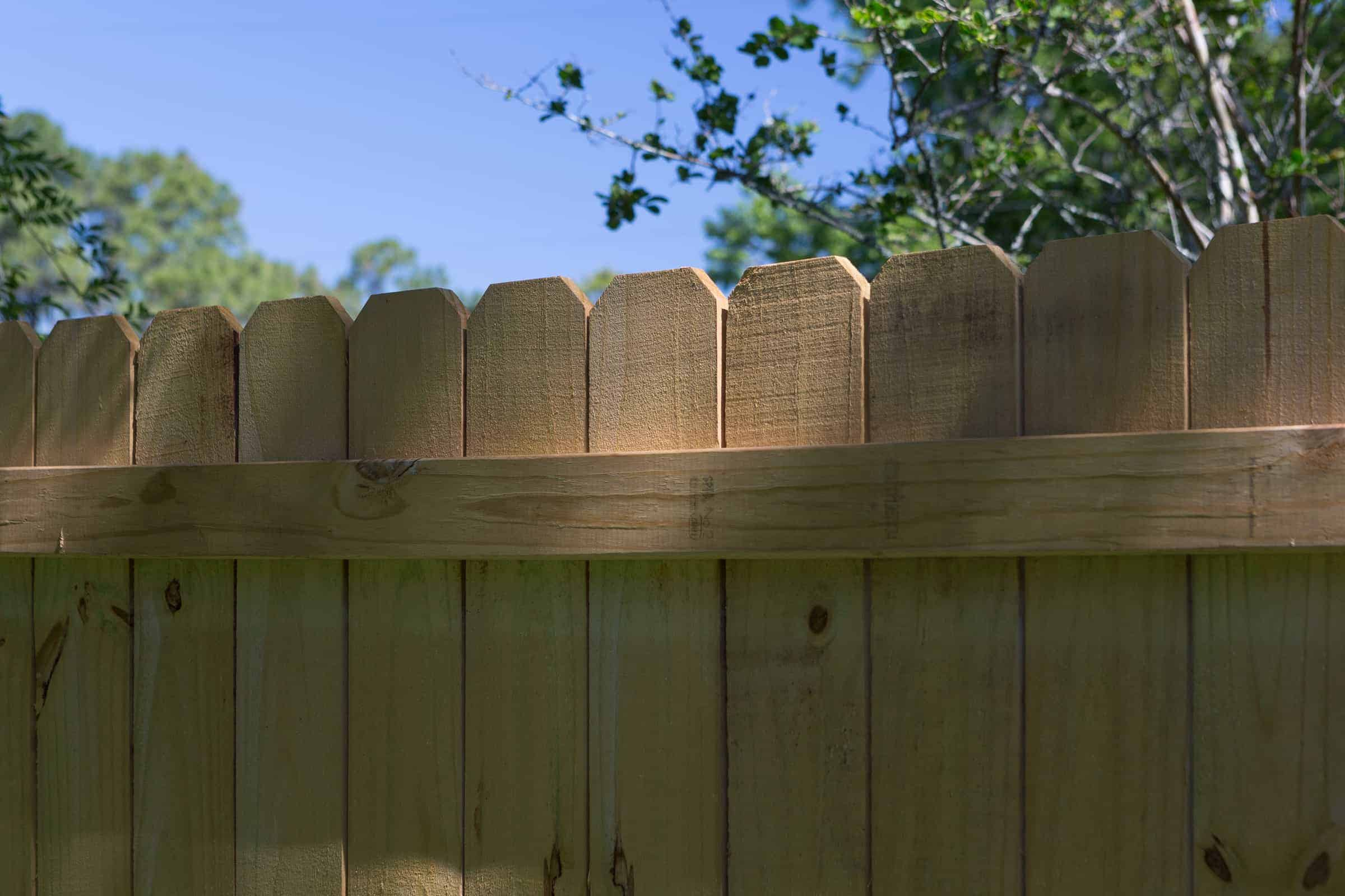 Stockade Wood Fence