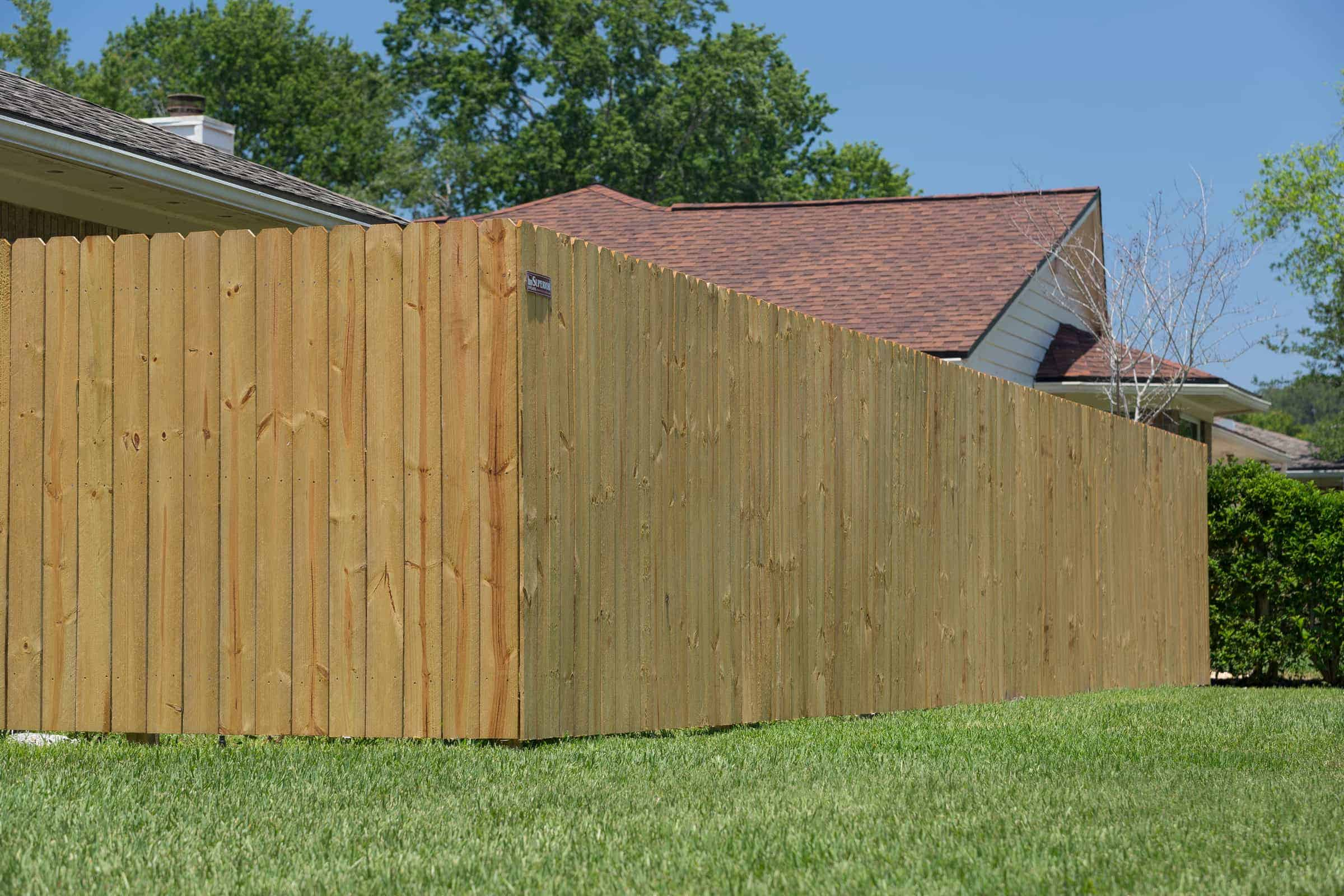 Stockade Wood Fence Fence Pictures Florida Wood Fence