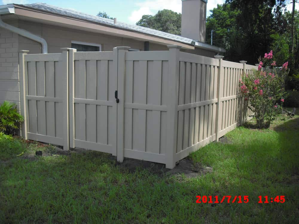 Vinyl Shadowbox Fence Pictures Florida Vinyl Shadowbox