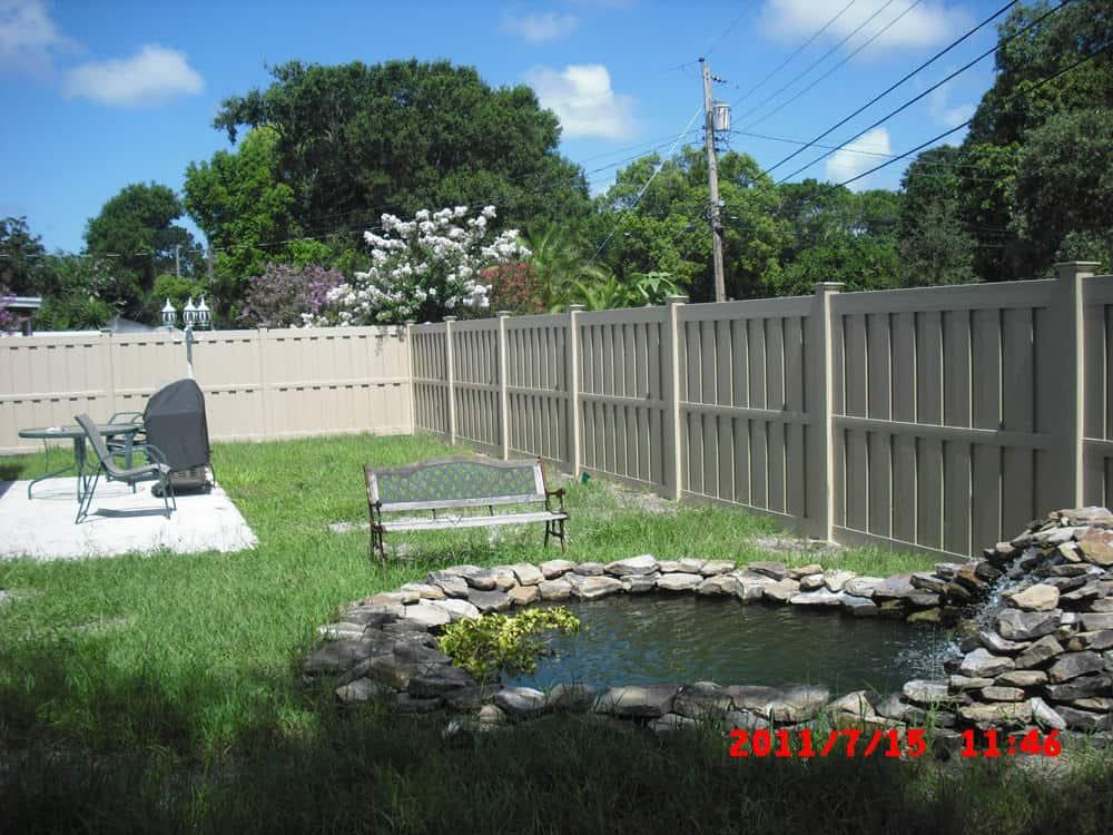 Vinyl Shadowbox Fence Pictures Florida Vinyl Shadowbox