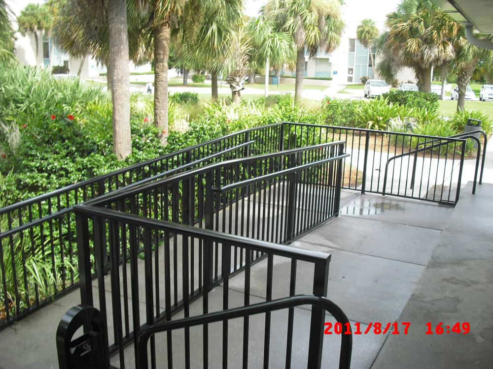 Ada Railing Pictures Florida Ada Railing Gallery Florida
