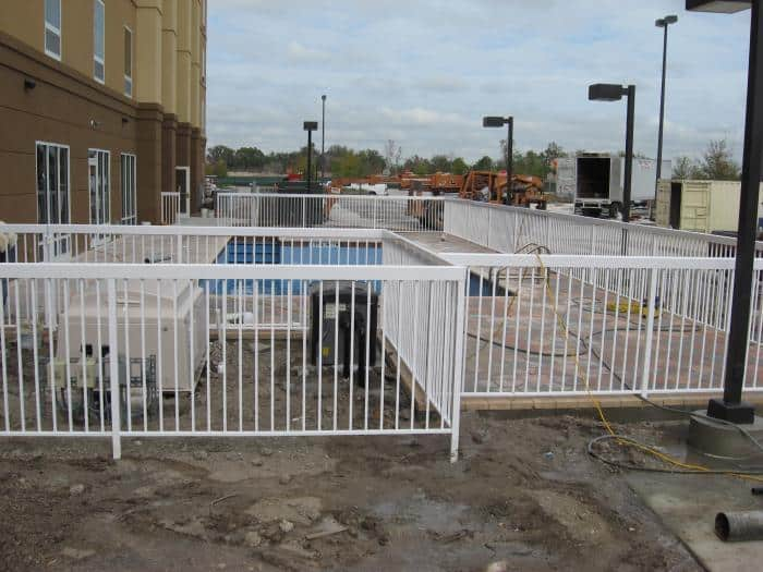 Commercial Aluminum Pool Fence Pictures Florida