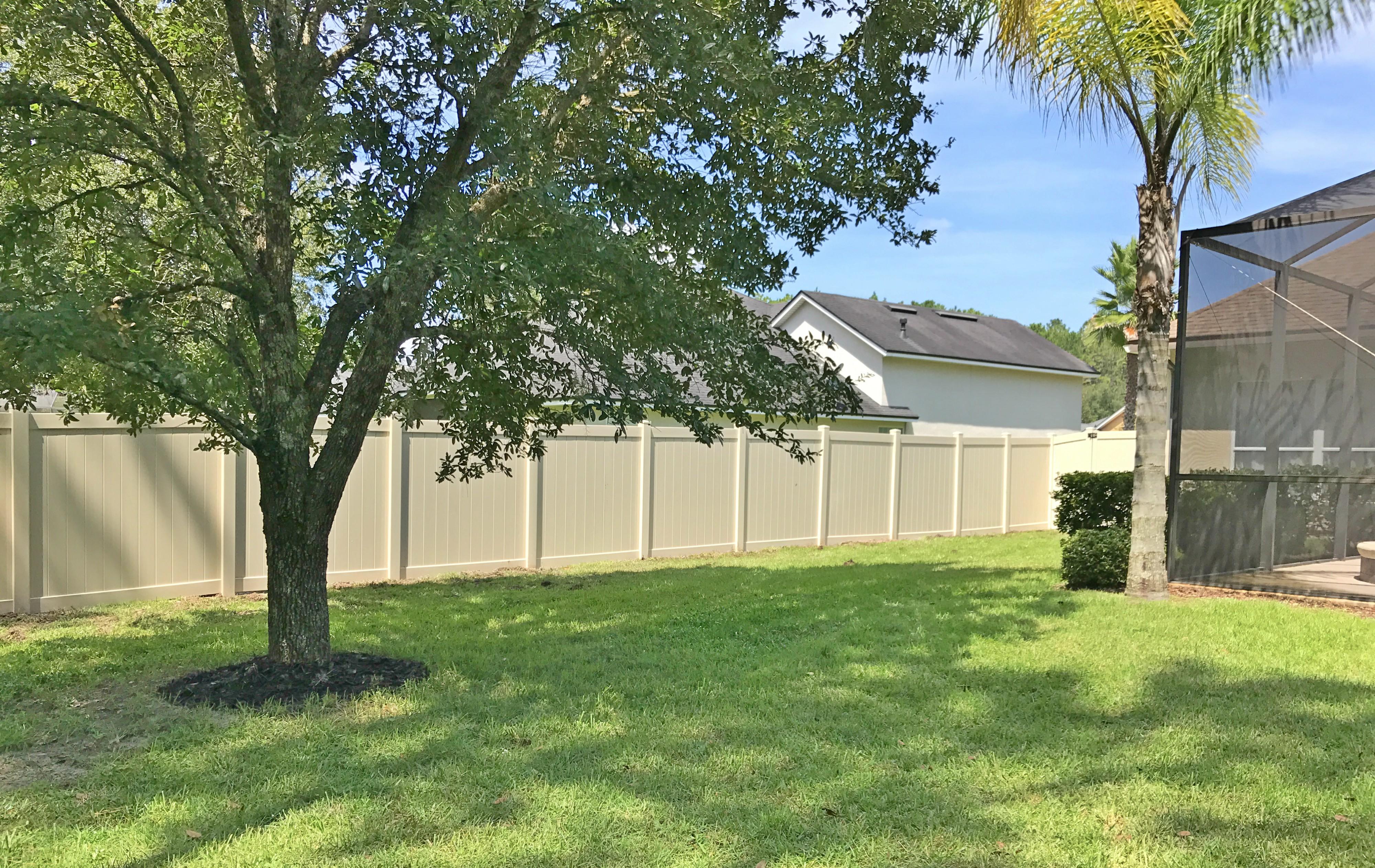 Vinyl Fence Orlando Florida Vinyl Fence Company In
