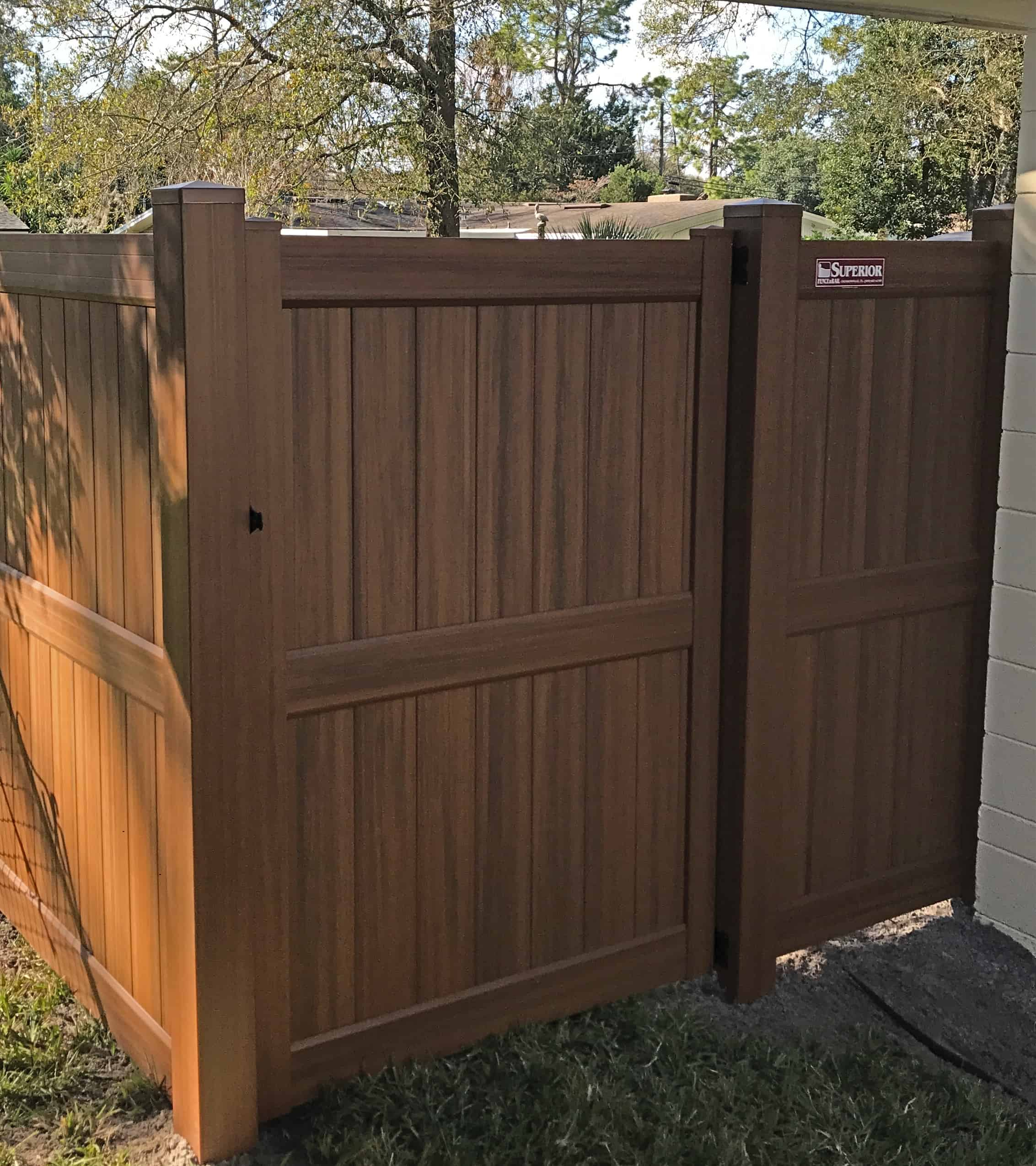 Vinyl Fence Pictures Florida Vinyl Fence Gallery Florida