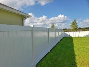 White Vinyl Fence Kissimmee Fence Outlet