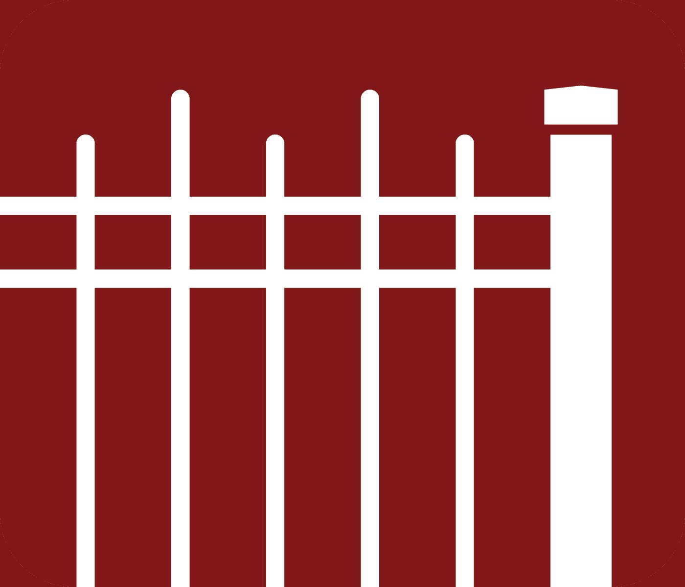 Aluminum Fence Type Icon