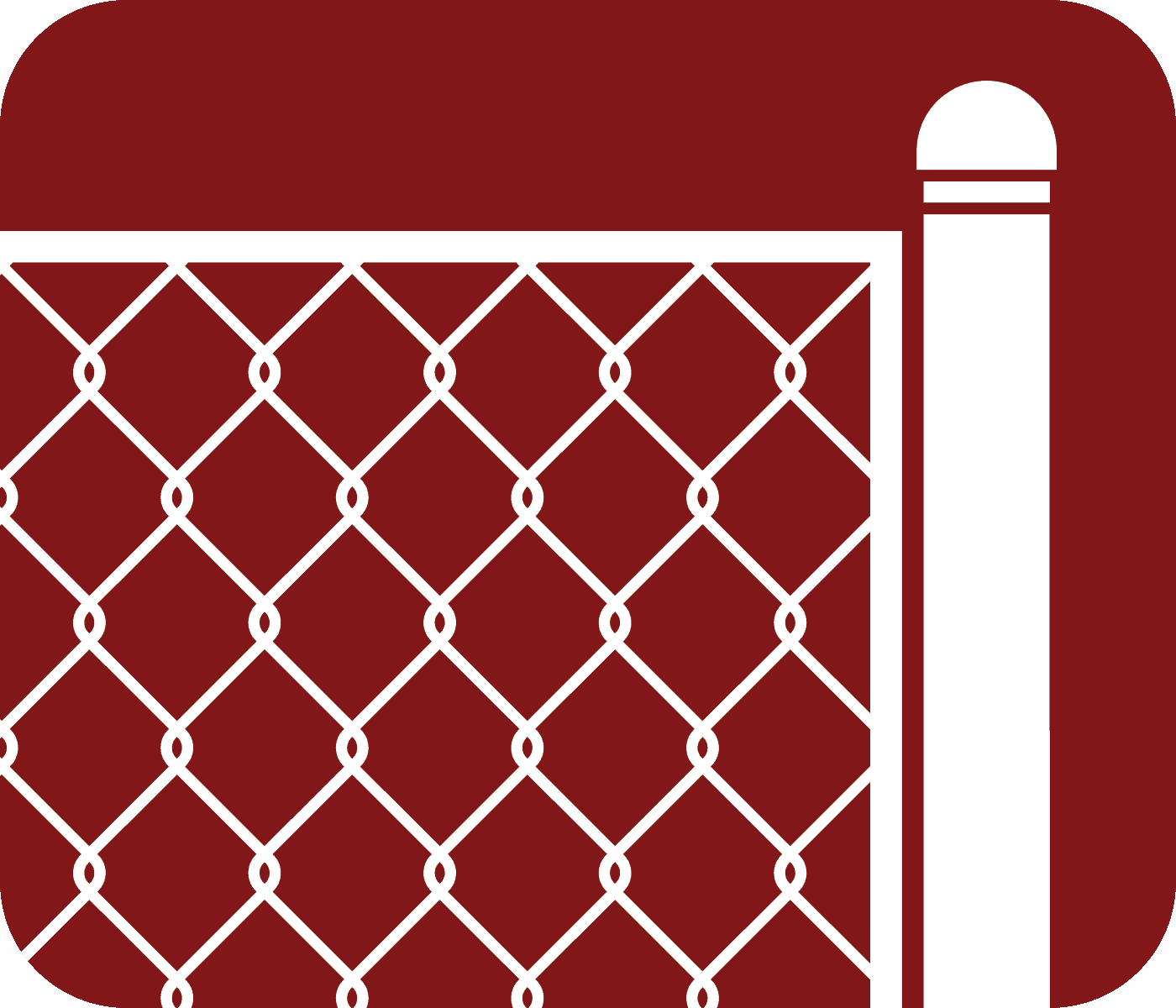 Chain Link Fence Type Icon