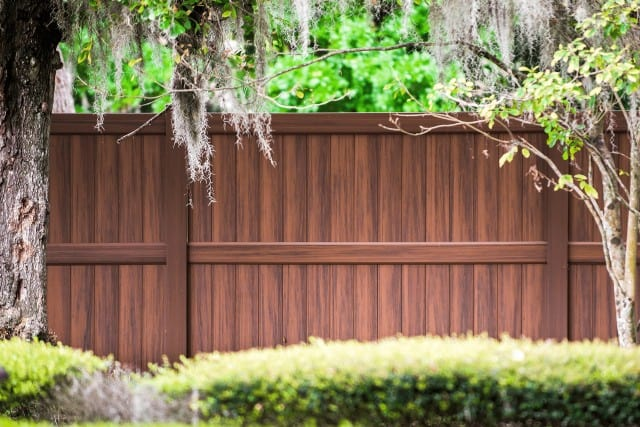 Heartwood Vinyl Fence