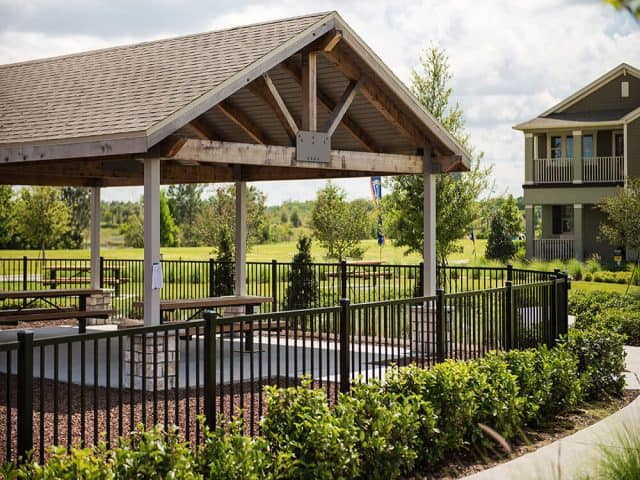 Aluminum Fence - Commercial Community