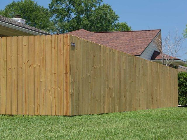 Stockade Wood Fence 13