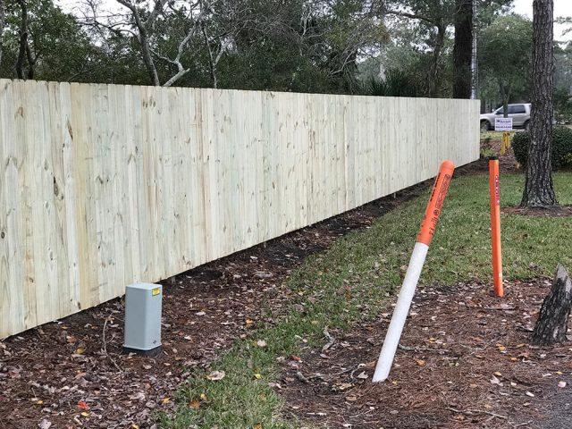 Stockade Wood Fence 5