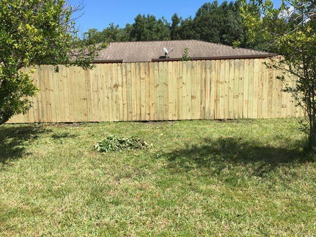 Stockade Wood Fence 8