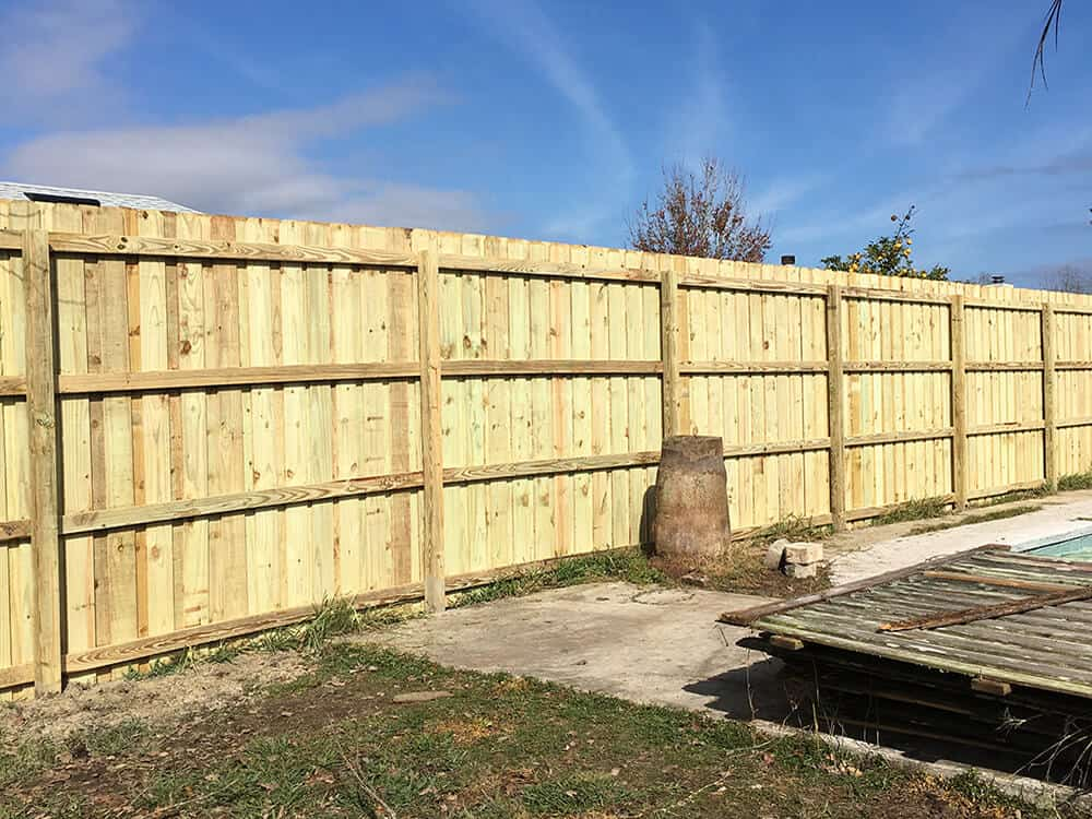 Wood Fence Board On Board 11 Superior Fence Amp Rail Inc