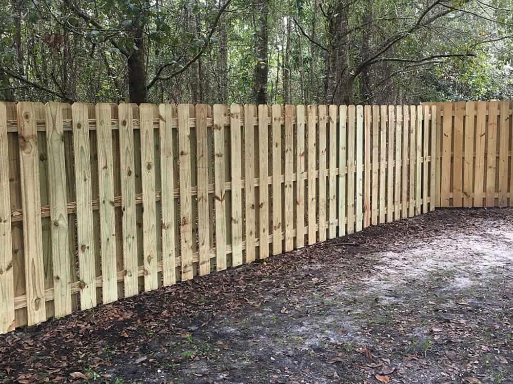 Wood Fence Shadow Box 10 Superior Fence Amp Rail Inc