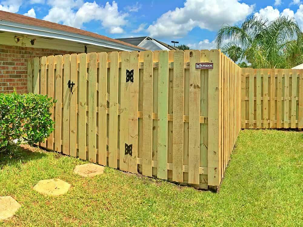 Wood Fence Shadow Box 13 Superior Fence Amp Rail Inc
