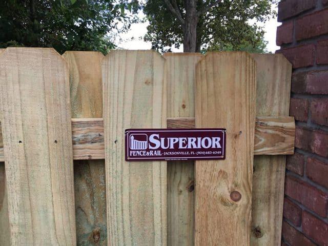 Wood Fence - Shadow Box 15