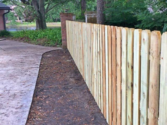 Wood Fence - Shadow Box 16