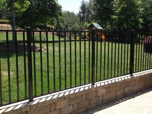 3'H Sterling Aluminum Fence