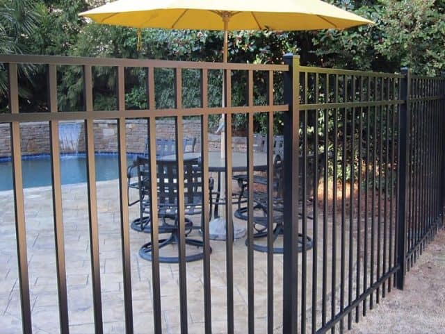 5'H Sterling Aluminum Fence