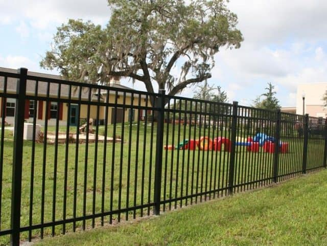 Commercial Aluminum Fence 2
