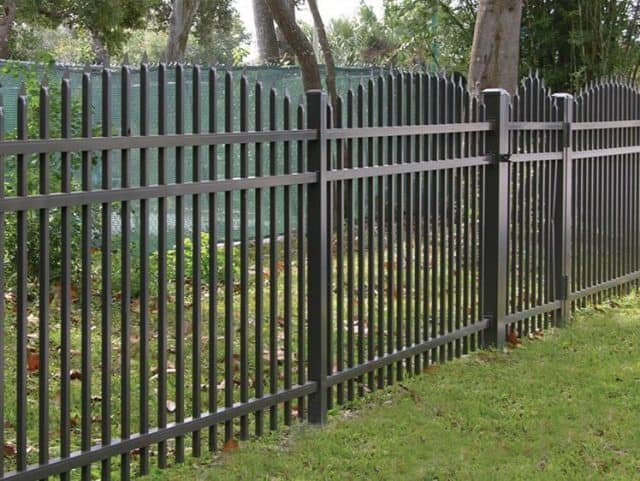 Commercial Aluminum Fence 5