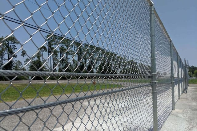 Commercial Chain Link Fence 6