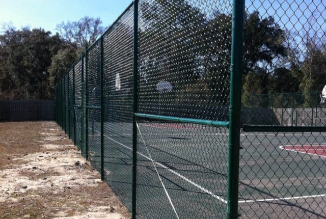 Commercial Chain Link Fence 7