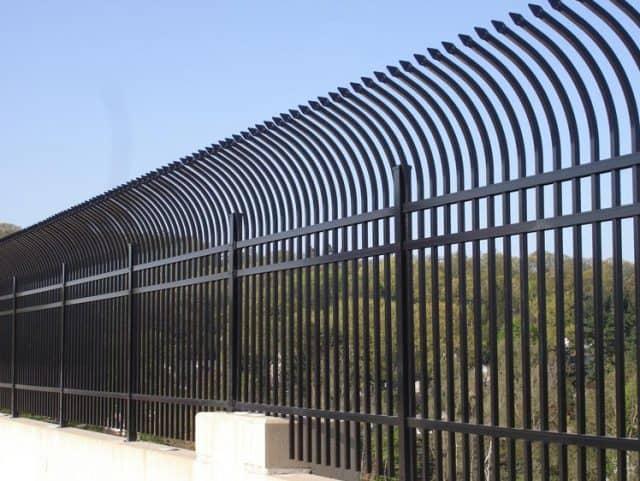Industrial Aluminum Talon Fence