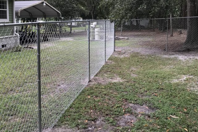 Residential Chain Link Fence 5