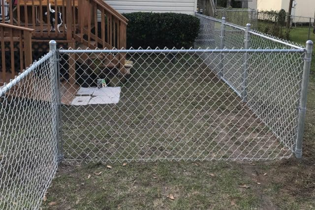 Residential Chain Link Fence 8