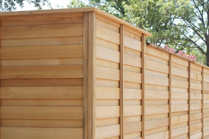 Justin Fence Company Wood Fence