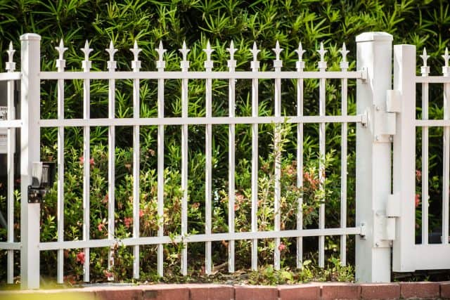 residential access control system aluminum gate