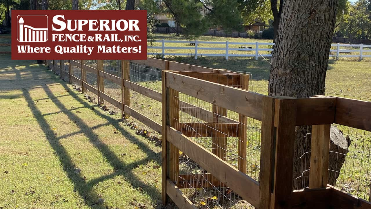 Irving fence company contractor